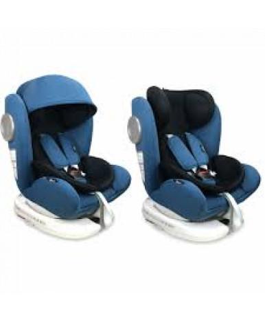 Автокресло Lorelli Lusso SPS Isofix Blue Black (0-36 кг)