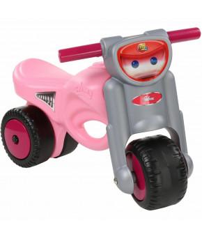 Мотоцикл-каталка Полесье Мини-мото розовая