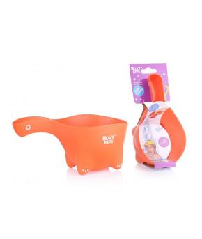 Ковшик для мытья головы Dino Scoop, цвет оранжевый