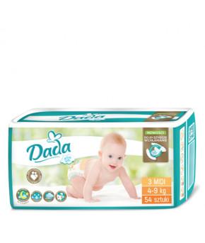 Подгузники DaDa Extra Soft 3 MIDI 4-9кг 54шт