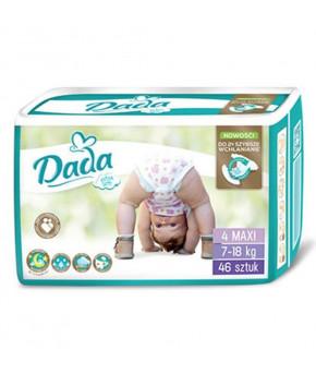 """Подгузники """"DaDa"""" Extra 4 Soft MAXI (7-18кг) 46шт"""