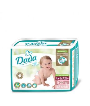 Подгузники DaDa Extra Soft 4+ MAXI 9-20кг 42шт