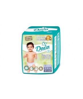 """Подгузники-трусики """"DaDa"""" 5 Extra Soft PANTS (12-15кг) 20шт"""