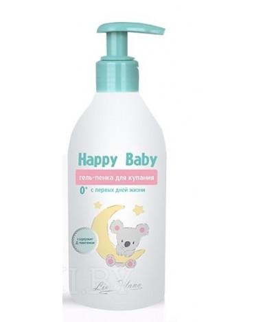 Гель-пена для купания Happy Baby с первых дней жизни 300мл