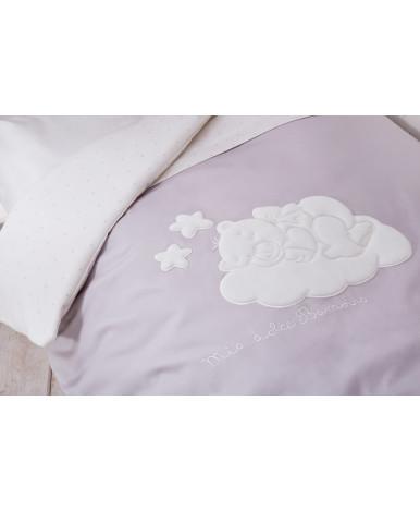Комплект в кроватку Perina Бамбино грей 3пр