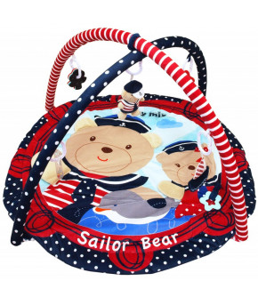 Коврик Baby mix морячки, развивающий