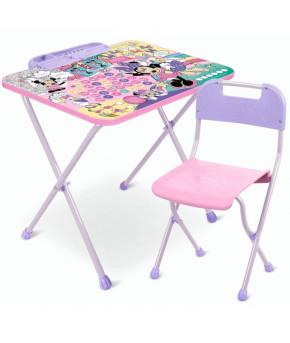 Мебельный комплект Nika Kids Disney 1 Минни Маус