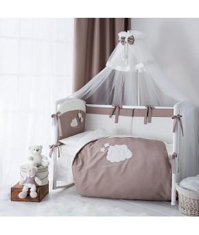 Комплект в кроватку Perina Бамбино капучино 6пр