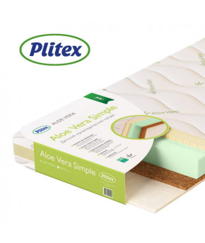 "Матрас ""Plitex"", (Aloe vera Simple), 1190х600х120мм"