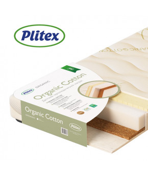 Матрас Plitex Organic Cotton, 119х60х12см