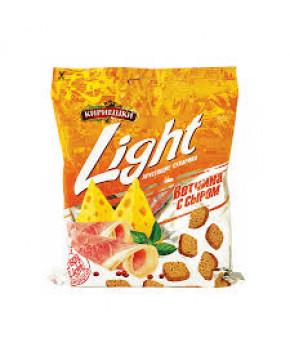Сухарики Кириешки Light со вкусом ветчины и сыра 33г