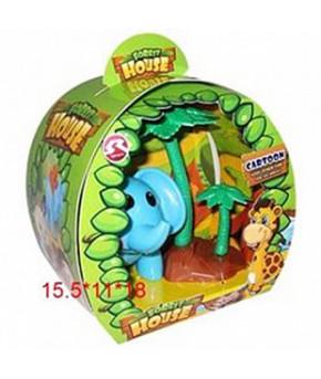 Игровой набор фигурка слоника и пальма T35