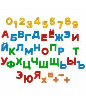 Развивающий набор Полесье буквы цифры знаки
