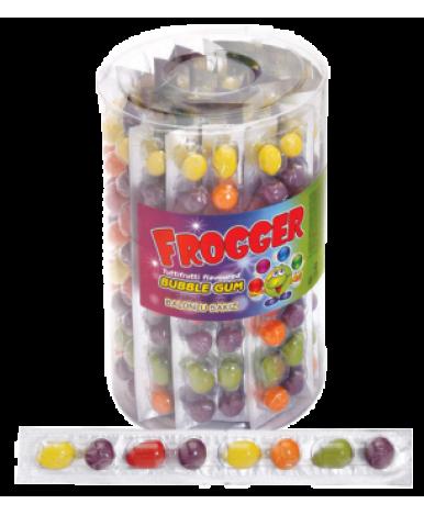 Жевательная резинка Frogger с фруктовым ароматом 22г