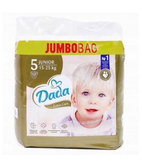 Подгузники DaDa Extra Care 5 JUNIOR 15-25кг 68шт