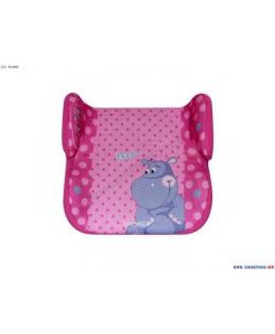 Автокресло Lorelli Topo Comfort Pink Hippo (15-36 кг)