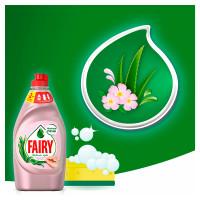 Средство для мытья посуды Fairy нежные руки Розовый жасмин Алоэ Вера 450мл
