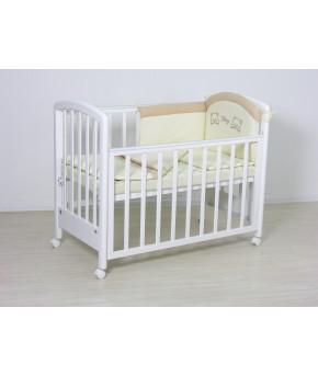 """Комплект в кроватку Fairy """"Я и моя мама"""", бежевый, (3 предмета)"""