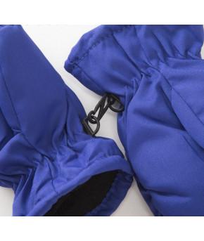 Варежки зимние MINAKU 3-4 года, цв.синий