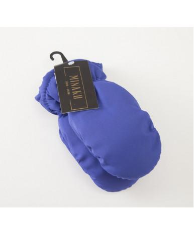 Варежки зимние MINAKU 7-8 лет, цв.синий