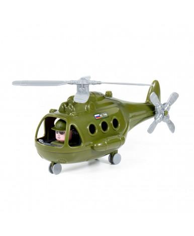 Вертолёт военный Полесье Гром (в коробке) РБ