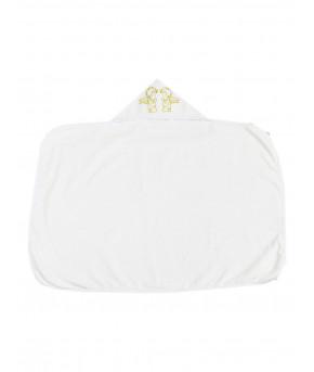 Пеленка Багира Бим Бом для крещения белая 80х110 см