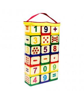 Развивающие кубики Арифметика 18 шт
