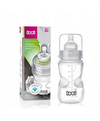 Бутылочка Lovi пластиковая 250мл 3+