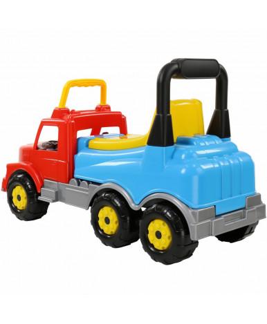 Автомобиль-каталка Полесье Буран №2, красно-голубая