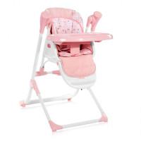 Cтульчик-шезлонг для кормления Lorelli Ventura 2в1 Pink