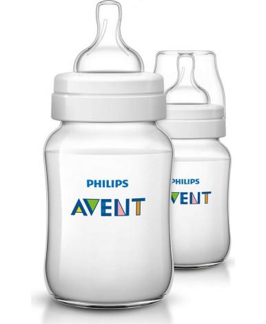 Бутылочка Avent Classic+, 260мл (уп.2шт)