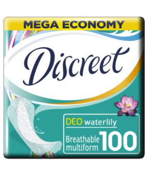 Прокладки женские Aldays Discreet Deo Водная Лилия ежедневные 100шт