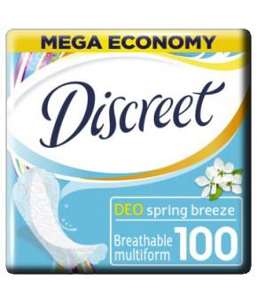 Прокладки женские Aldays Discreet Deo Весенний бриз ежедневные 100шт