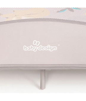 Манеж Baby Design Play Up 2020 07 beige