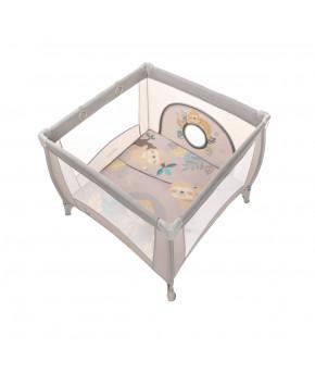 Манеж игровой Baby Design Play Up 2020 07 beige