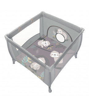 Манеж Baby Design Play Up 2020 09 light gray