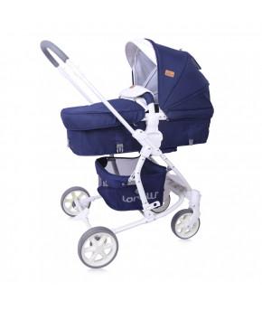 Детская коляска 2 в 1 Lorelli Aster Dark Blue Flowers