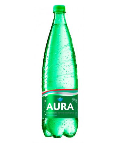 Вода Aura питьевая газированная минерализованная 0,5л