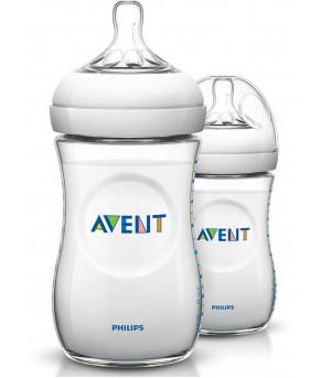Бутылочка Avent Natural 260мл (цена за штуку)