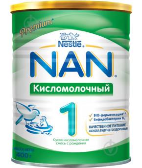 Смесь Nestle NAN 1 кисломолочный 400г