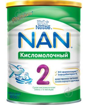 Смесь Nestle NAN 2 кисломолочный 400г