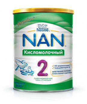 """Смесь """"Nestle"""" NAN 2 кисломолочная, 400гр"""