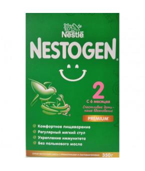 Смесь Nestle Nestogen 2 Premium молочная 350г Выгодный формат!