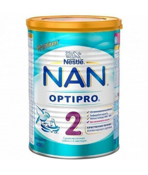 Смесь Nestle NAN 2 OPTIPRO молочная 400г