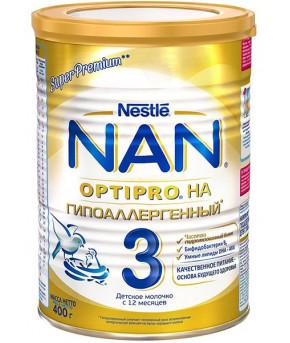 Смесь Nestle NAN 3 OPTIPRO молочная 400г