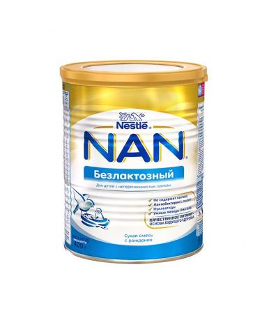 """Смесь """"Nestle"""" NAN безлактозная, 400гр"""
