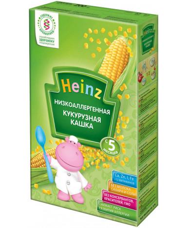 Каша Heinz низкоаллергенная кукурузная безмолочная 200г