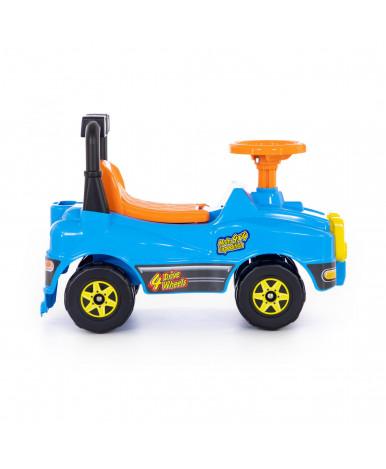 Автомобиль-каталка Полесье Джип голубой