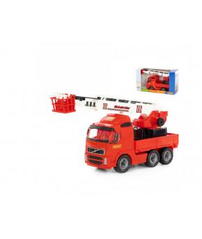 Автомобиль-пожарная Volvo (в коробке)