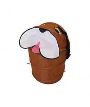 """Корзина """"Собака"""" для игрушек коричневый"""